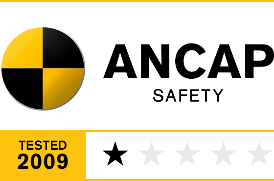 1 Star ANCAP Safety Rating