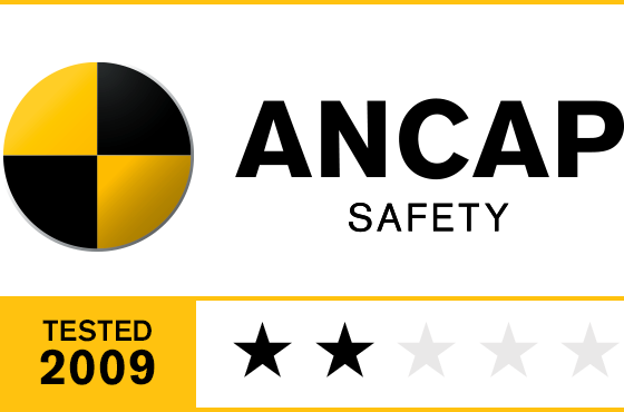 2 Star ANCAP Safety Rating