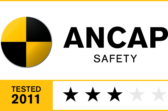 3 Star ANCAP Safety Rating